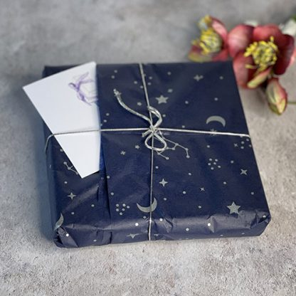 Gift wrapped astrology necklace