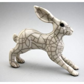 Leaping Hare sculpture