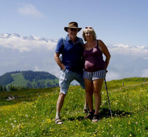 Mount Rigi Bob and I