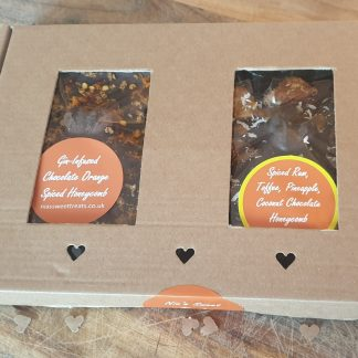 His and hers chocolate gift box
