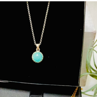 Amazonite-pendant-sterling-silver