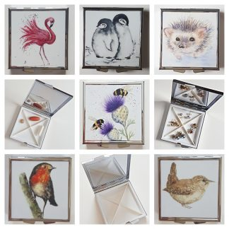 Animal pill or earring boxes