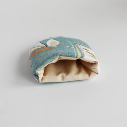 Blue Floral Egg Cosies