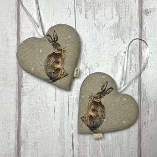 Hare Hanging Heart