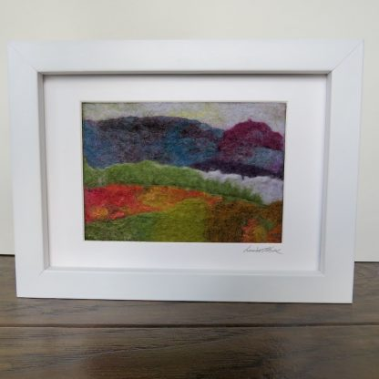 Purple-Headed-Mountain-Felt-Painting