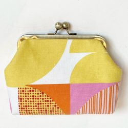 Scandi-fabric-pink yellow-red-clip-frame-purse