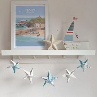 origmai stars garland decoration ocean map theme