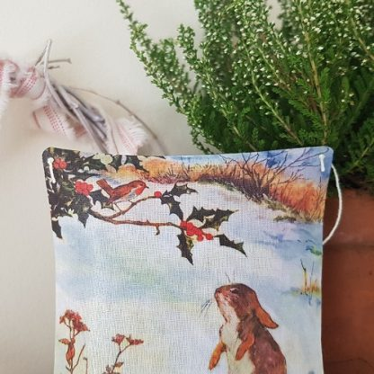 Bunny and Robin Fragrant Gift Pillow