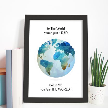 gift frame for Dad for fathers day