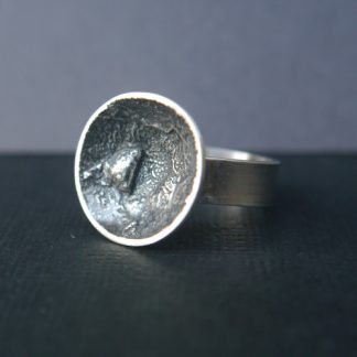Sterling Silver Chunky Statement Ring