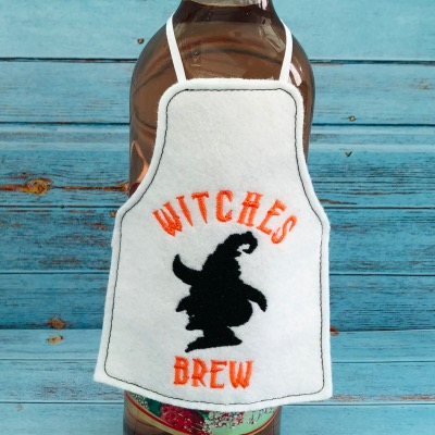 Witches Brew Bottle Apron