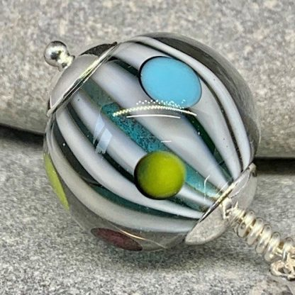 stripes and spots pendant