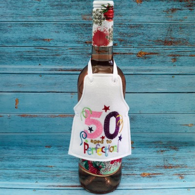 Bottle Apron 50 Aged To Perfection