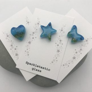 Seascape pin brooches