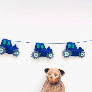 Blue-Tractor-Bunting