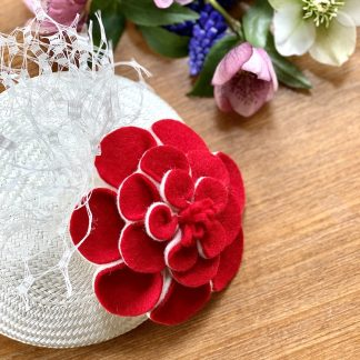Millinery-workshop-finished-piece-roses-are-red