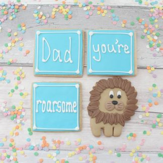 Cute Father's Day cookie gift