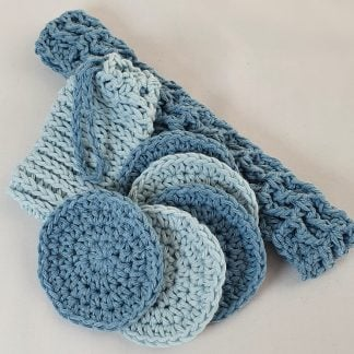 Cotton Scrubbies Make up Removal Eco Friendly