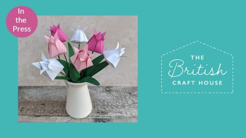 Feature in France for Origami Blooms