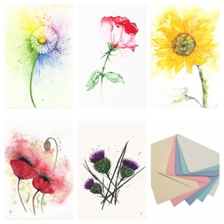 Bright Floral Summer Cards