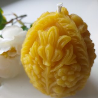 Faberge Design Luxury Beeswax Candle