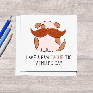 dog father's day card