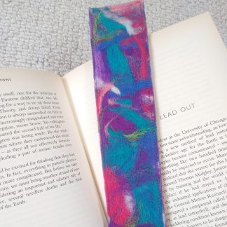 Needle felted bookmark by Oh Sew Creative