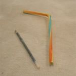 Plastic Straw & Ballpoint Pen Inner
