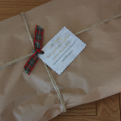 All purchases gift wrapped