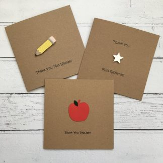 Crofts Crafts Thank You Teacher Card collection