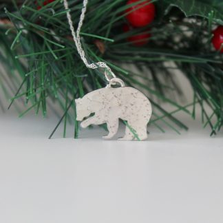 Sterling Silver Constellation Bear Necklace