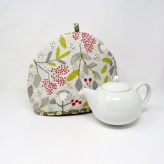 Large tea cosy in a Scandi style fabric