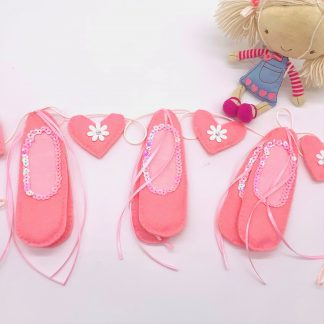 Ballet shoes Bunting