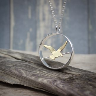 Willow & Twigg Bird On A Wire Pendant