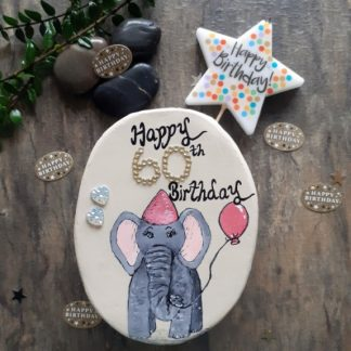 Happy 60th birthday keepsake gift-elephant gift ideas-60th gifts for her