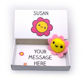 Personalised flower gift for her