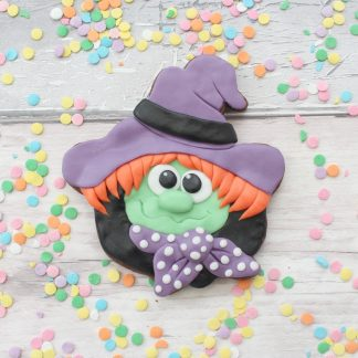 halloween witch cookie