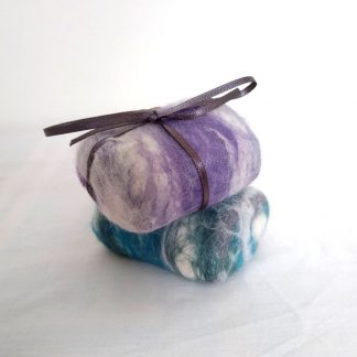Hand Felted Fragranced Natural Soaps by Oh Sew Creative